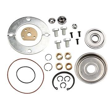 Garrett T2 T25 T28 Turbo reconstruir Kit 360 grado 300ZX S14 S15 DSM SR20 VG30: Amazon.es: Coche y moto
