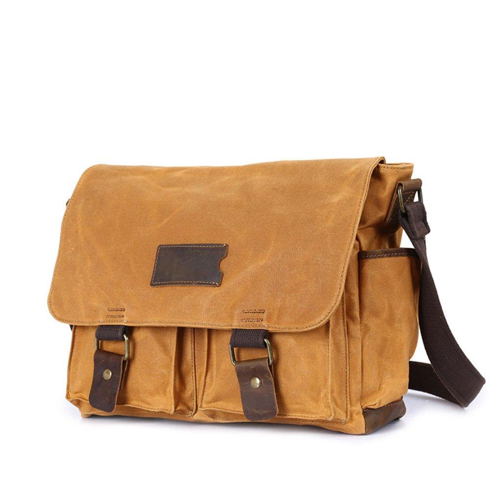 LPYMX Mens Tote Mens Shoulder Messenger Bag Vintage Canvas Bag