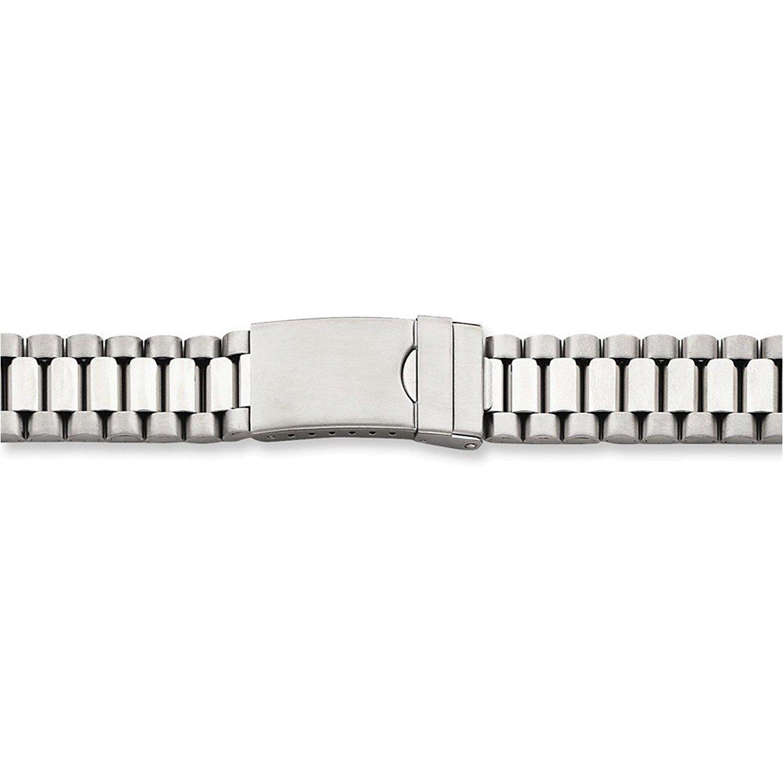 メンズロング18 – 22 mmステンレス腕時計バンド  B074X9GTKF