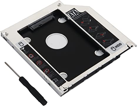 Deyoung 2nd Hard Drive HDD SSD Caddy Adapter Swap Sony AD-7710H AD-7740H AD-7700S AD-7590S Optical Drives
