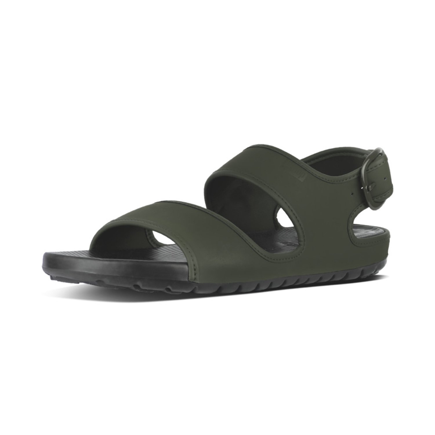 TALLA 42 EU. Fitflop Lido TM Back-Strap Sandals In Neoprene, Chanclas para Hombre