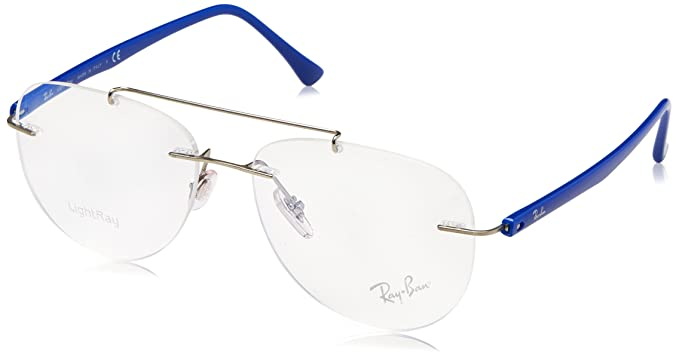 Amazon.com: anteojos Ray-Ban óptico RX 8749 1193 Plata: Clothing