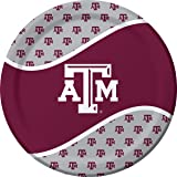 Texas A & M Aggies Dinner Paper Plates, 8-Count