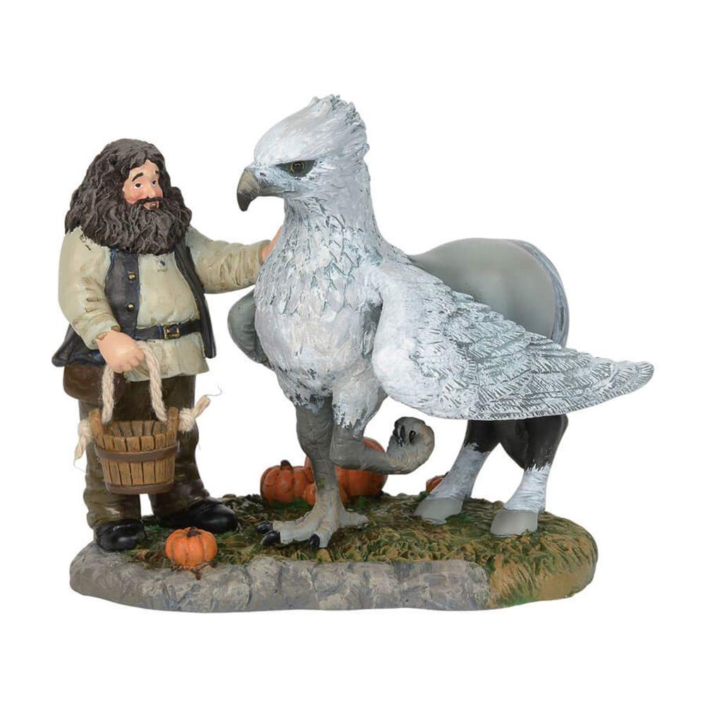 Department56 Harry Potter Village Accessories Proud Hippogriff Indeed Figurine, 3.35'', Multicolor