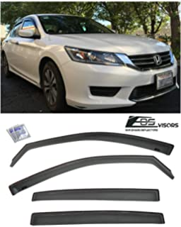 A-Premium Splash Guard Mud Flaps for Honda Accord 2013-2017 Excluding Sport Sedan Front and Rear 4-PC Set