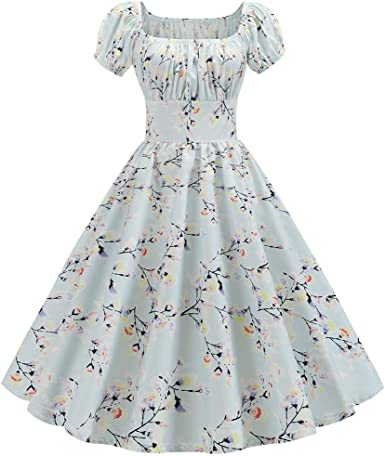 casual vintage short dress