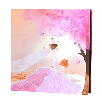 Amazoncom Wedding Photo Book Album With Self Adhesive Pages Home