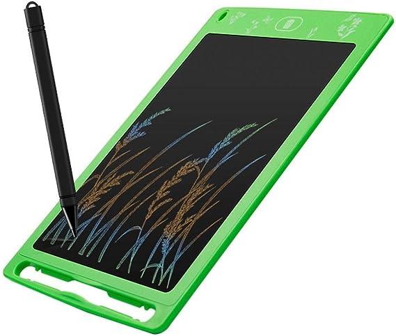 液晶タブレット児童画タブレット電子環境製図板 ペン&タッチ マンガ・イラスト制作用モデル (Color : Green, Size : 8.5INCH)