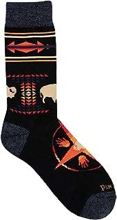 product image for Pendleton Camp Socks Big Medicine Black M