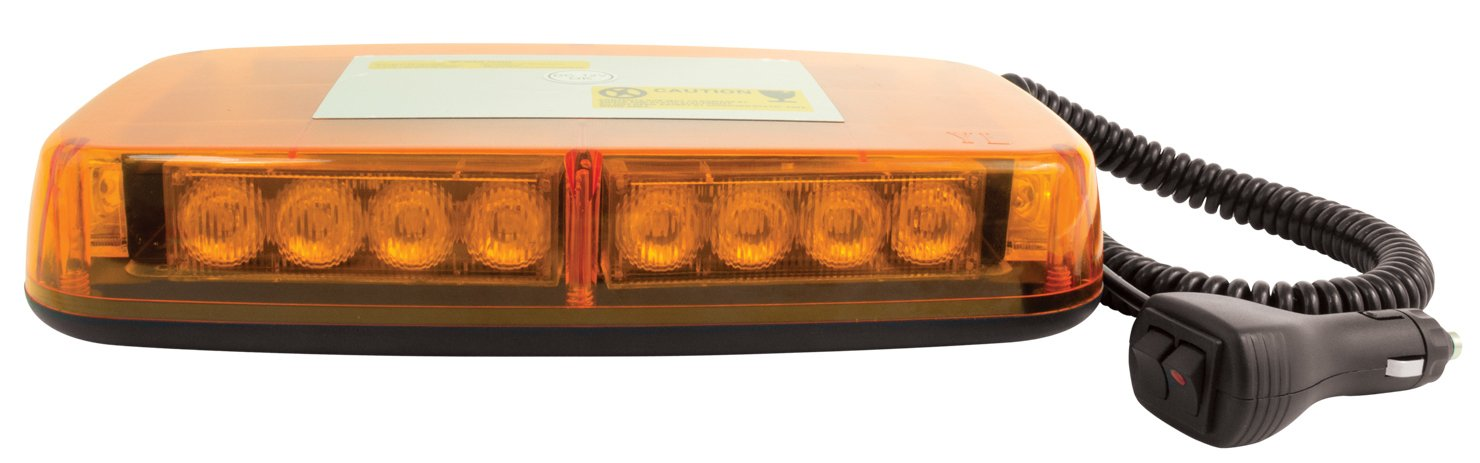 Blazer C4855AW LED Warning Light Bar with Magnetic Base, Amber by Blazer International Trailer & Towing Accessories (Image #2)