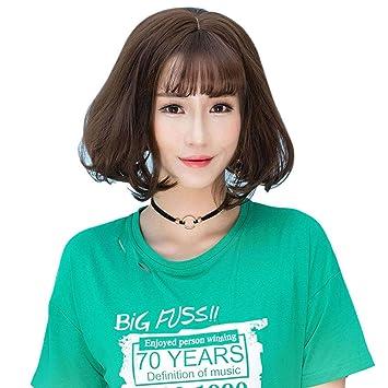 Amazon com : HongHu 11 81 Inch/ 30cm Fashion Neat Bangs