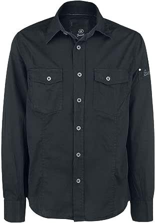 Brandit Woodland 4005/10košile Men Camisa Slim para hombre: Amazon.es: Ropa y accesorios