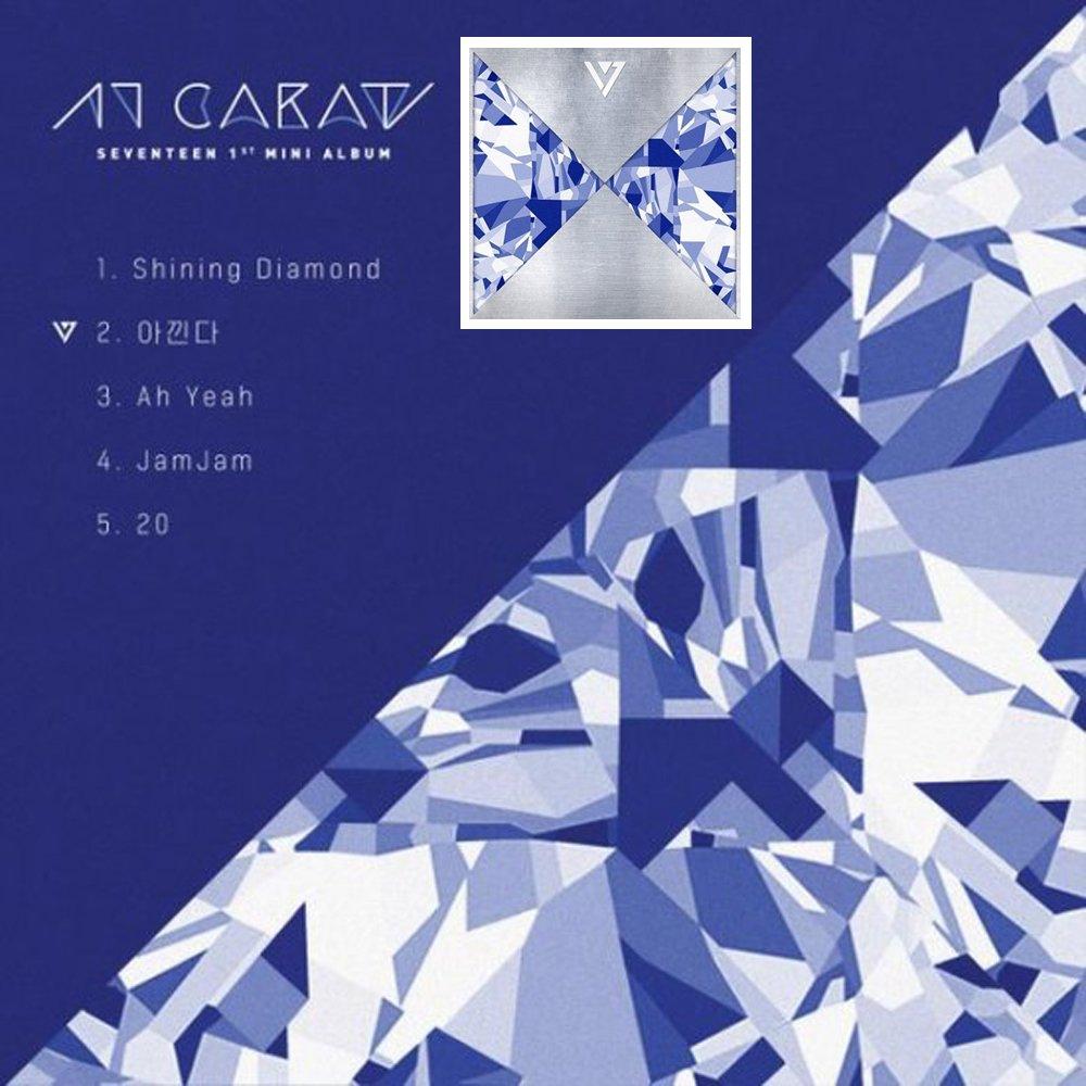 Seventeen Kpop 17 Carat 1st Mini Album Cd Photocards Going 3th Music