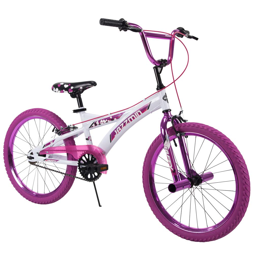 Huffy Bicycle Company 20'' Huffy Jazzmin Girls' Bike, Ages 5-9, Rider Height 44-56''