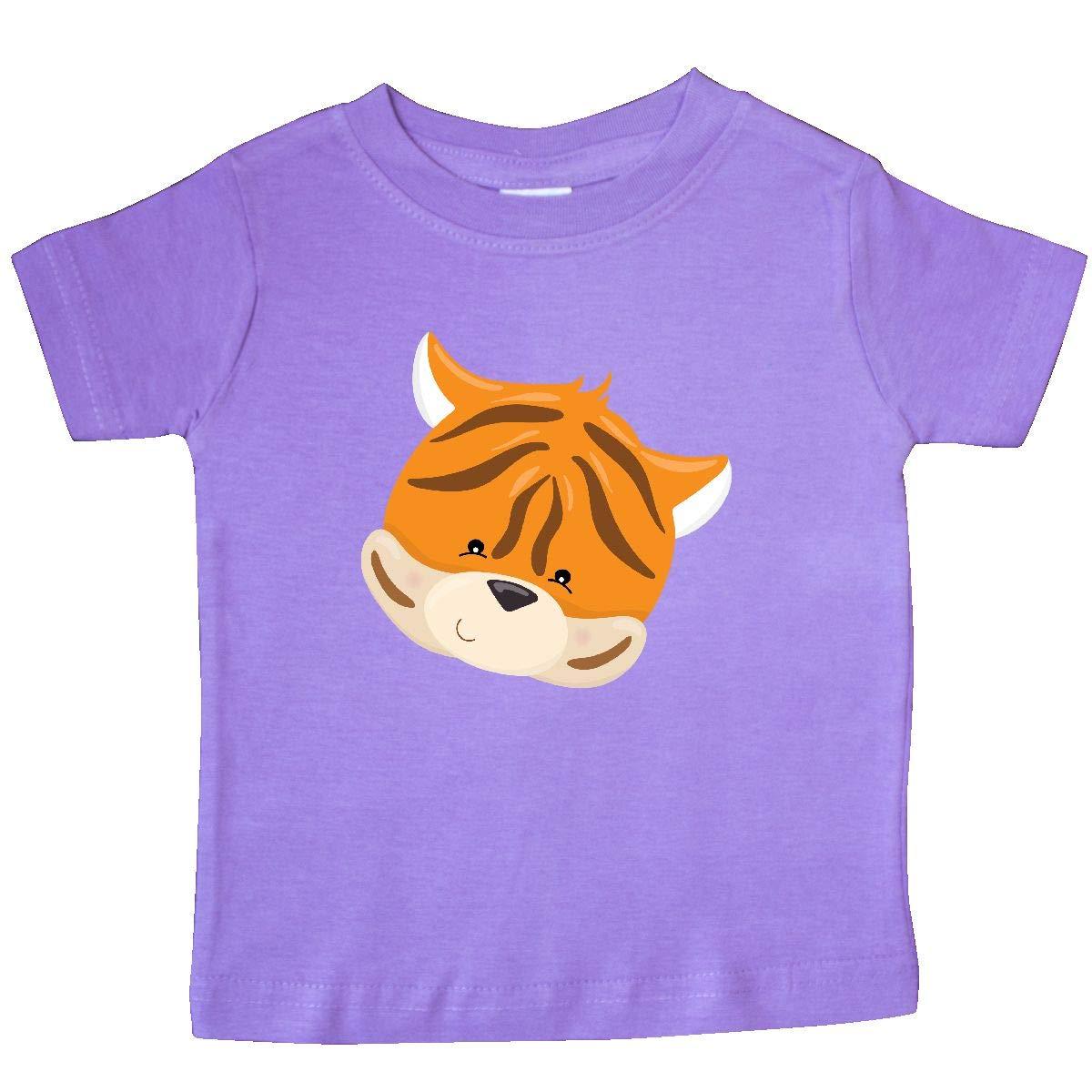 inktastic Cute Tiger Head Baby T-Shirt
