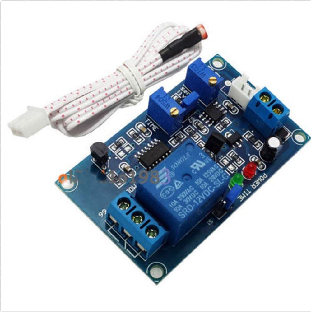 Light detect sensor 12V photoresistor relay module with timmer light control