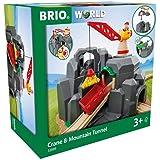 BRIO Crane and Mountain Tunnel,Multi