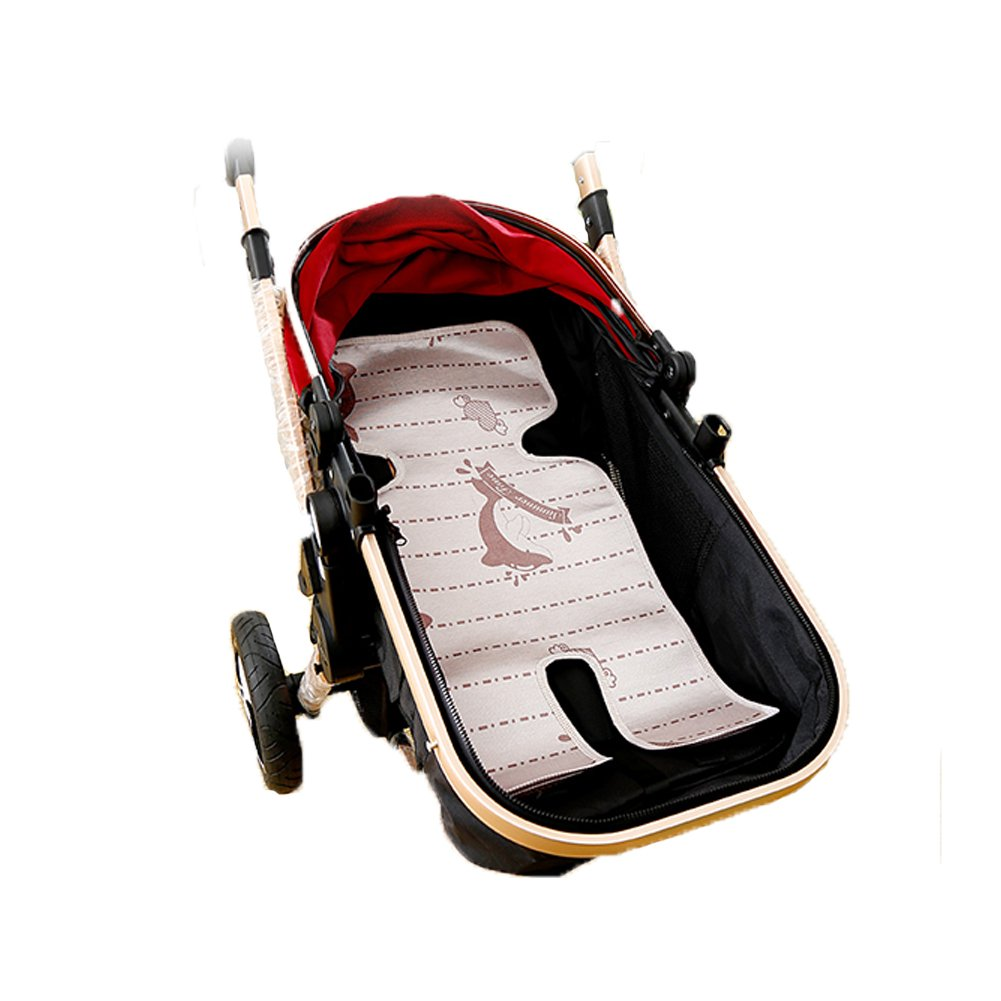 Fairy Baby Infant Stroller Summer Cushion Child Cool Mat Seat 12.6'' Wx29 L,Brown