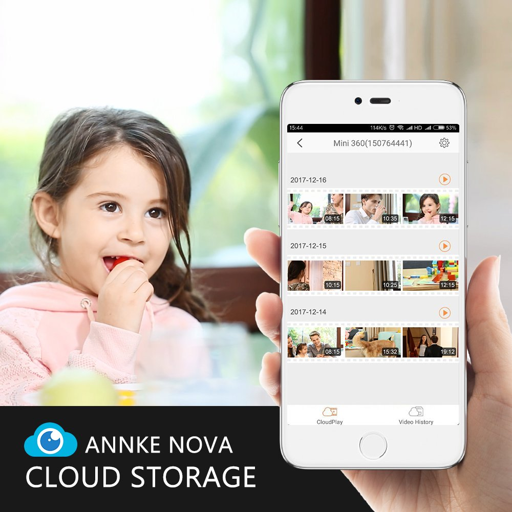 Details about IP Camera, ANNKE Nova S 1080P HD WiFi Wireless Security  Camera, Work with Amazon