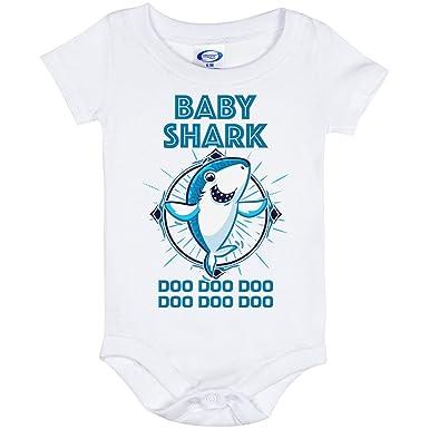 0e23515d Amazon.com: Baby Shark Doo Doo Baby Onesie Shirt: Clothing