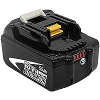 FUNMALL BL1860B 18V 5.5Ah Batería de Reemplazo