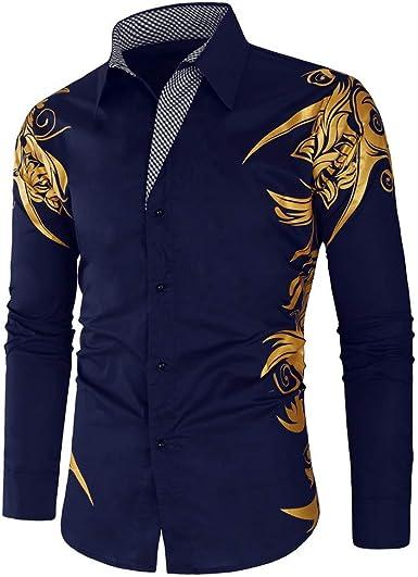 Jinyuan Camisas de Hombre Primavera otoño características ...