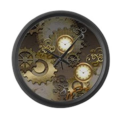 Amazoncom CafePress Steampunk Clocks And Gears Large 17