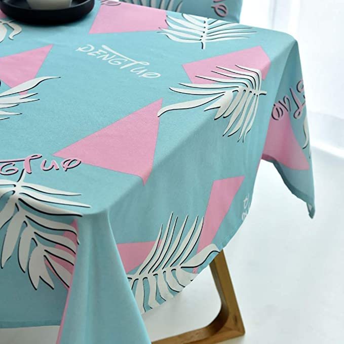 XTUK Mantel de decoración Mantel de Comedor Tela de algodón Mantel ...