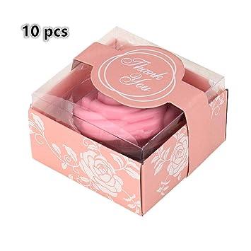 Allin Love 10 pieza Mini Rose Jabón, hecho a mano boda/Baby ...