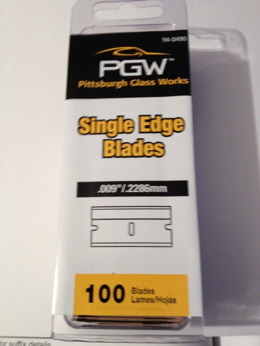 (50) 100 Packs Single Edge Razor Blades = 5000 individual blades (Case)