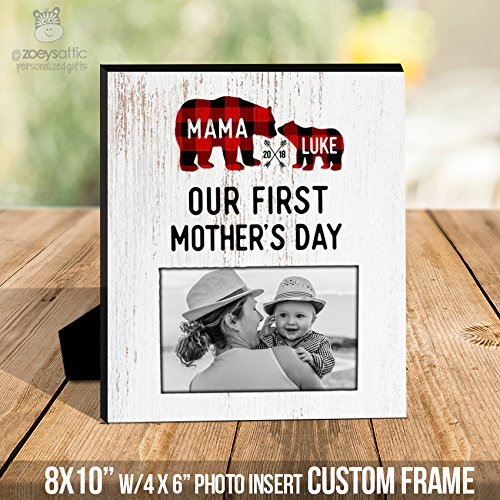 Amazon.com: mother\'s day frame | our first mother\'s day | mama frame ...