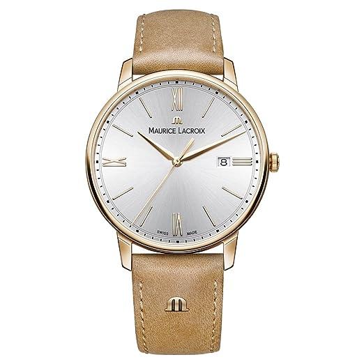 Reloj - Maurice Lacroix - para Hombre - EL1118-PVP01-111-2: Amazon.es: Relojes
