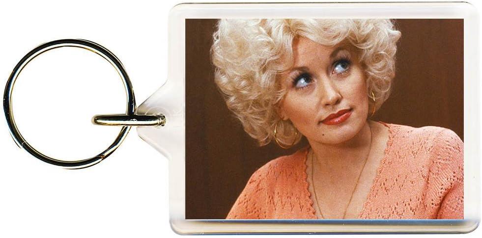 S8keMedia Dolly Parton #4 Keyring 50mm x 35mm