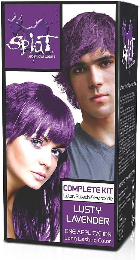 Splat - Kit de coloración de cabello completo y semipermanente