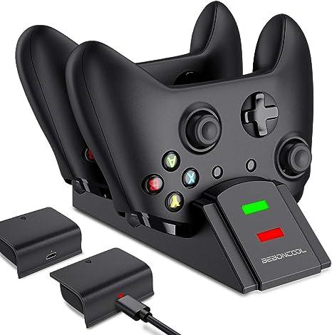 BEBONCOOL - Cargador de mando para Xbox One con batería recargable ...