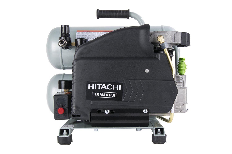 Hitachi ec99s 4 gallon portátil eléctrico doble pila caliente perro Compresor De Aire (Certificado Reformado): Amazon.es: Bricolaje y herramientas