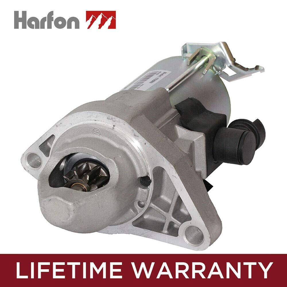 HARFON 17958 Quality Replacement Starter for 1.8L Honda Civic 06 07 08 09 10 11 31200-RNA-A51 RNA50 SM710-01 SMU0435