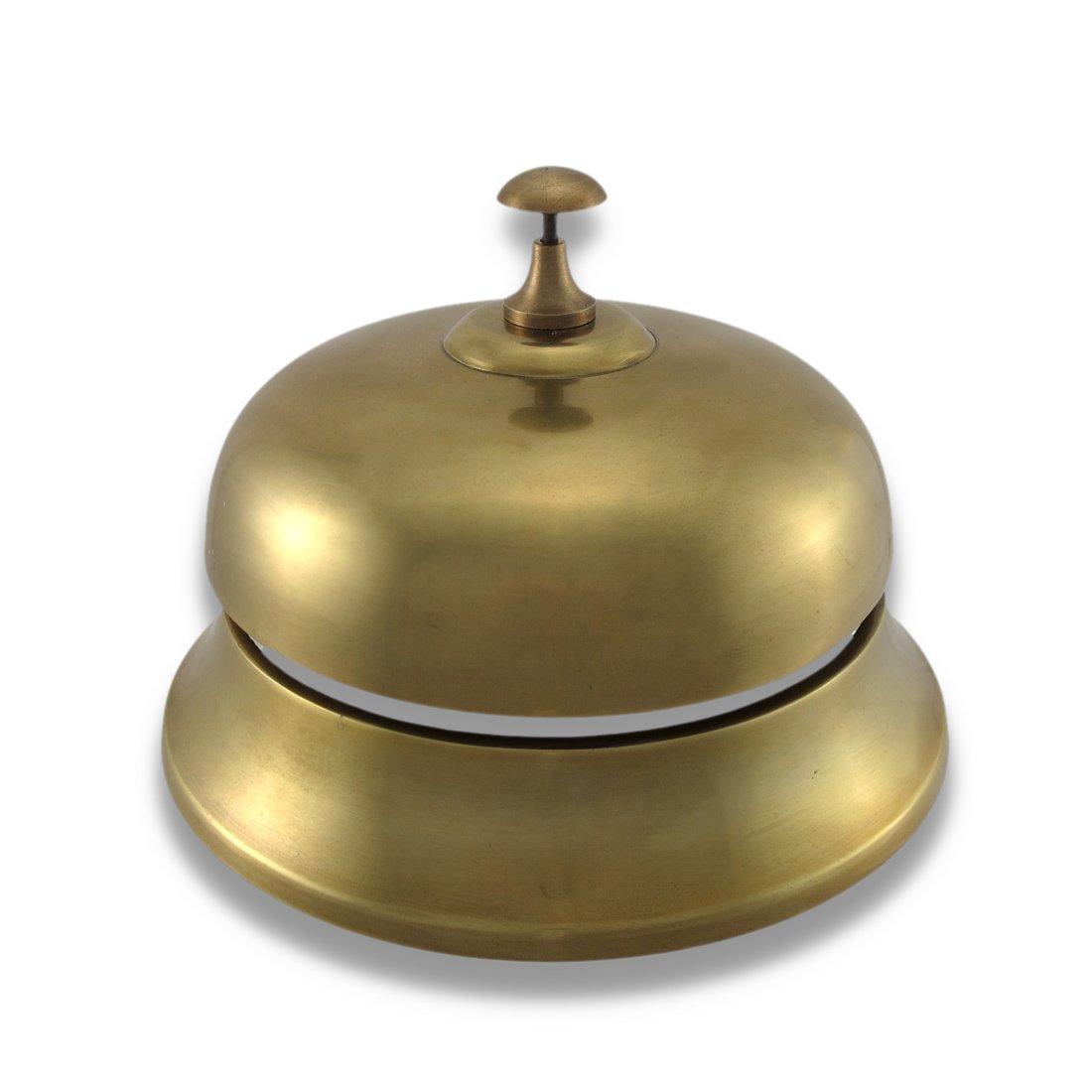 Amazon.com : Oversized Brass Finish Aluminum Desk Bell : Office Desk Call  Bells : Office Products - Amazon.com : Oversized Brass Finish Aluminum Desk Bell : Office