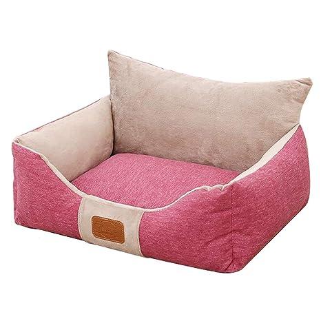 CUUYQ Deluxe Cama para Mascotas, CojíN Cómodo Pet Cushion ...