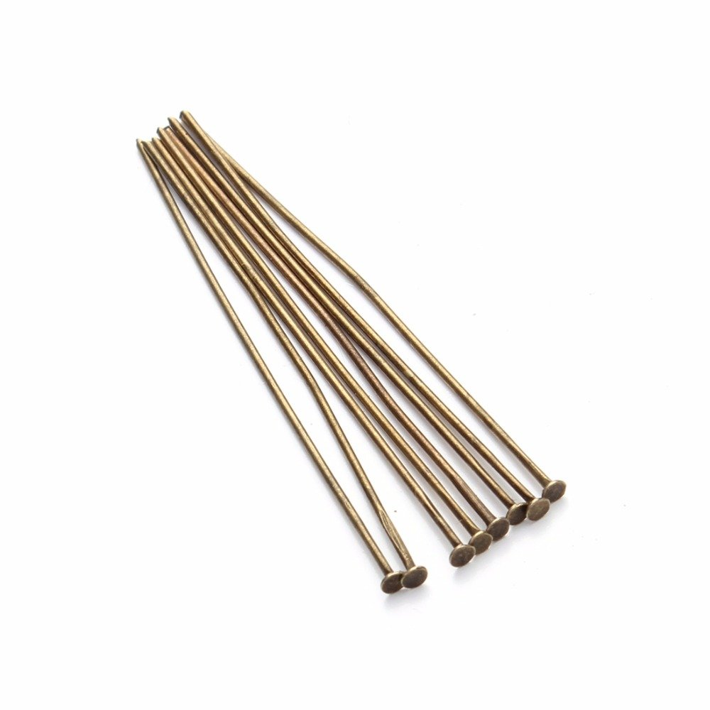 Rose Gold 200pcs Bag Dia 0 7mm Head Pins For Jewelry Making