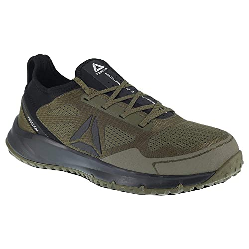 91ca229add2 Image Unavailable. Image not available for. Color  Reebok Men s All Terrain  Work EH Steel Toe Running Oxford