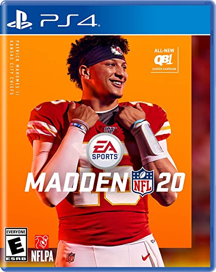 Madden Nfl 20   Play Station 4 by By          Electronic Arts