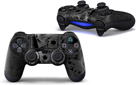 Morbuy PS4 Controller Skin Diseñador Piel Pegatina para Sony Playstation 4 PS4 Slim PS4 Pro DualShock Mando inalámbrico x 1 (Skulls): Amazon.es: Electrónica