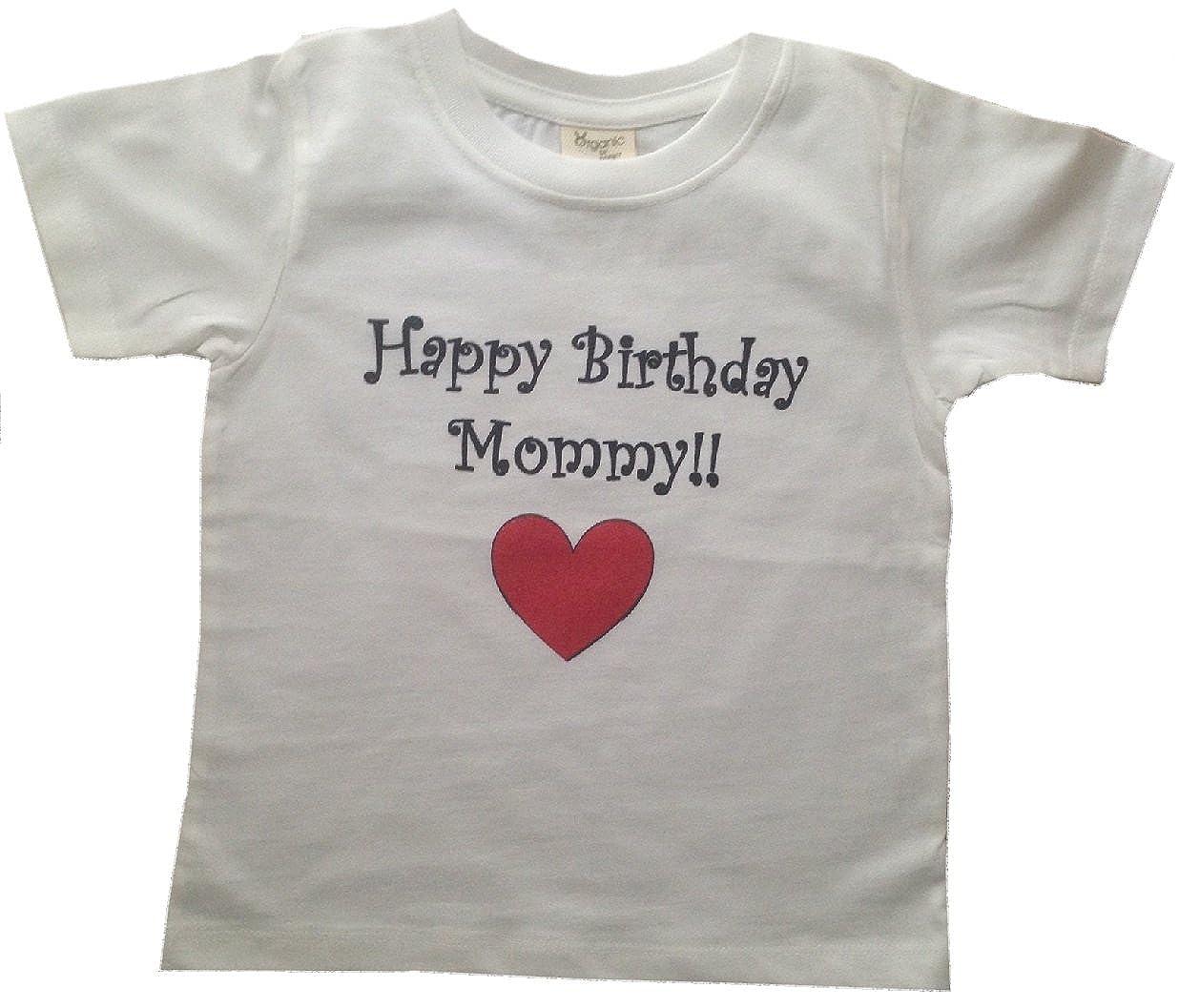 Amazon BigBoyMusic HAPPY BIRTHDAY MOMMY Toddler T Shirt Clothing