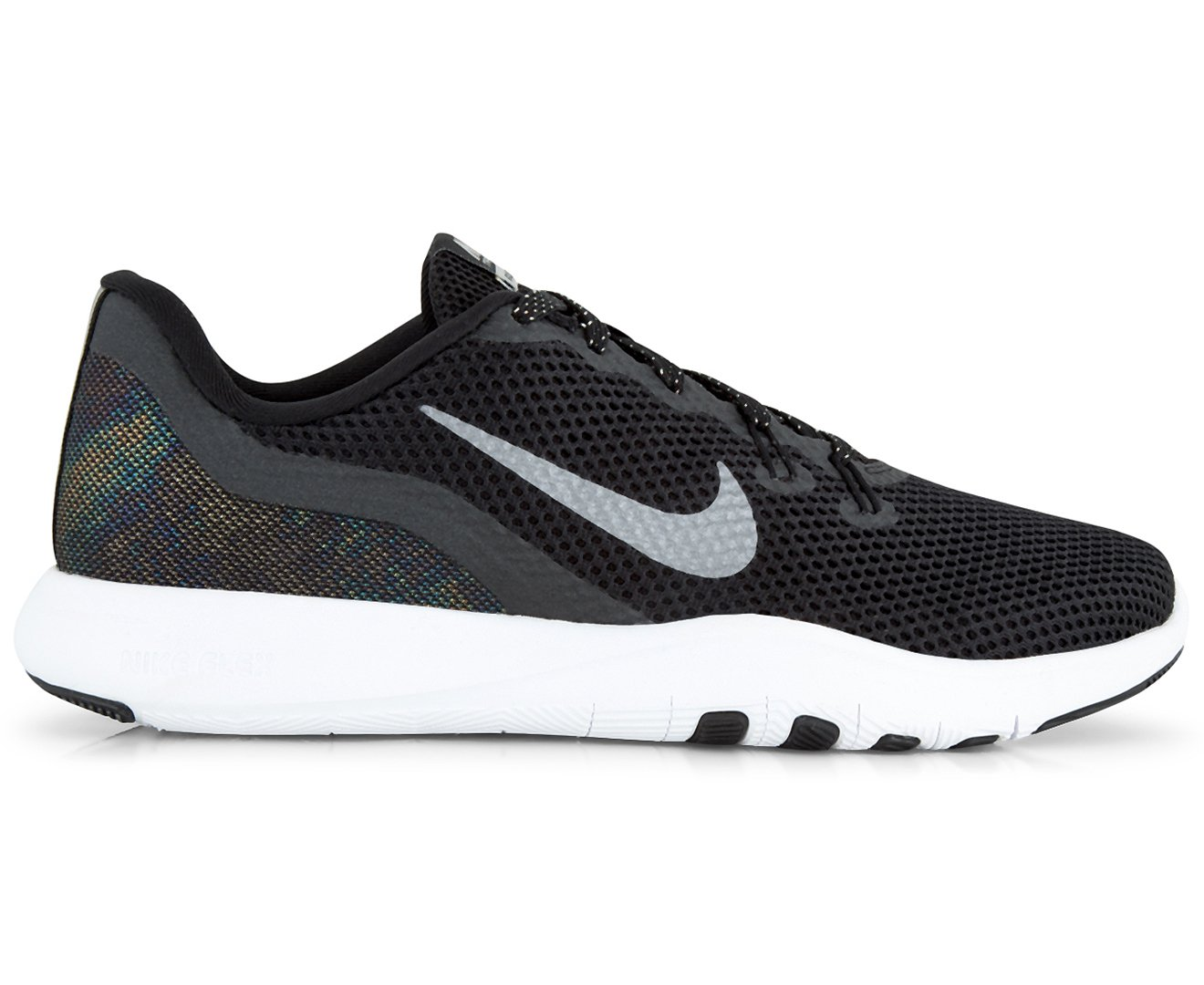 1ce663d7c4d4 Nike Women s Flex Trainer 7 MTLC Shoe Black Metallic Dark Grey   Amazon.com.au  Fashion