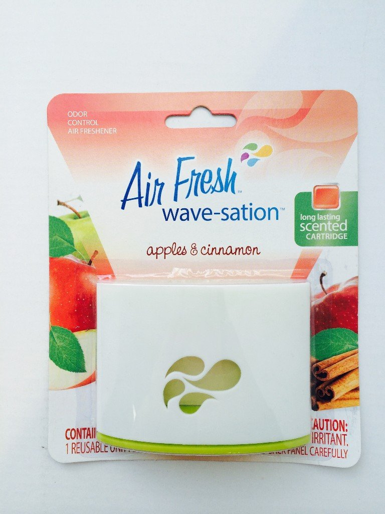 Air Fresh Wave-Station Apple Cinnamon Case Pack 72 , Automotive, tool & industrial , Office maintenance, janitorial & lunchroom , Cleaning supplies , Air fresheners