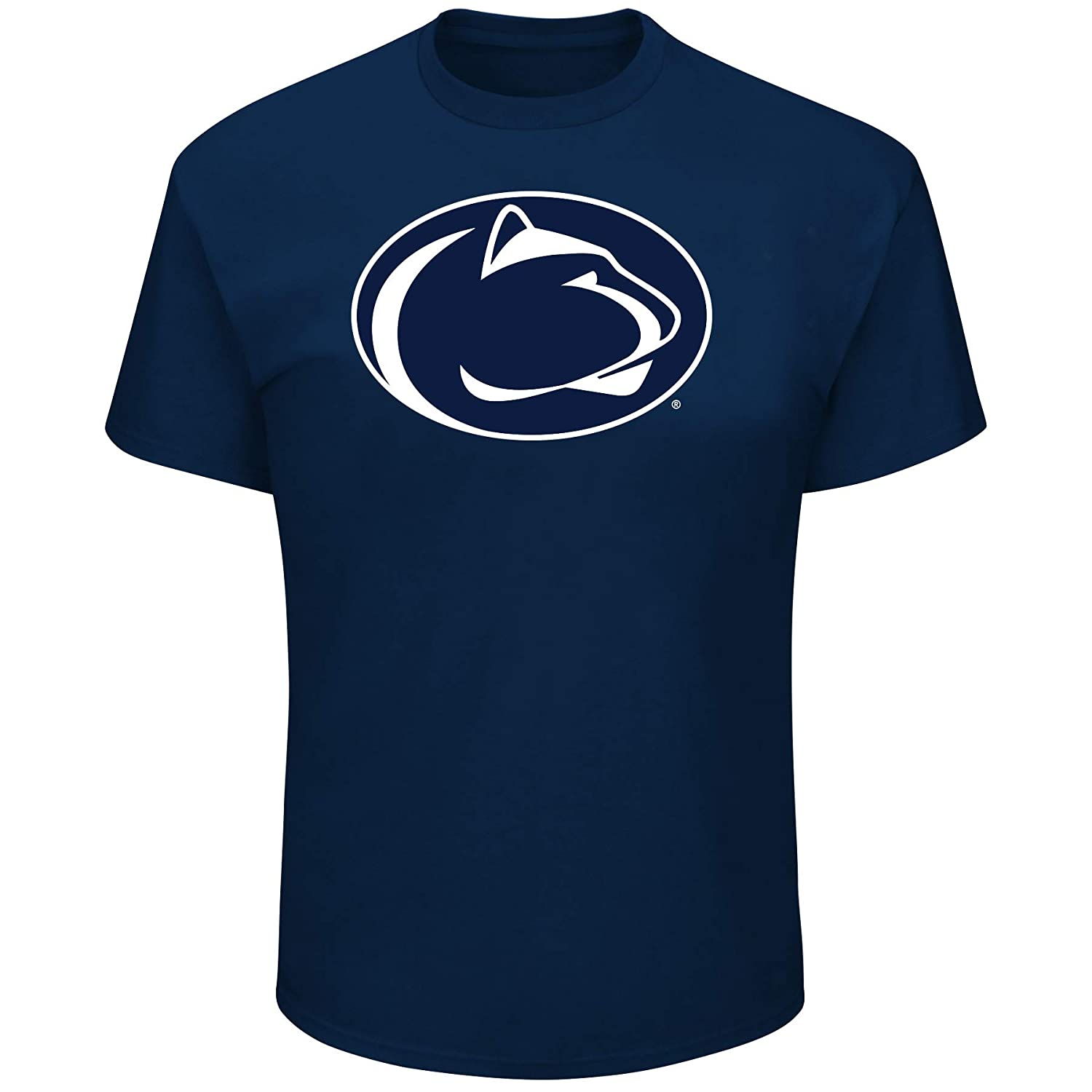 Navy 6X University of Penn State Mens Big and Tall Short Sleeve Cotton Tee Shirt