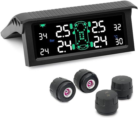 8 Wheels Lifetime Warranty* RV TPMS Tire Pressure Monitoring System