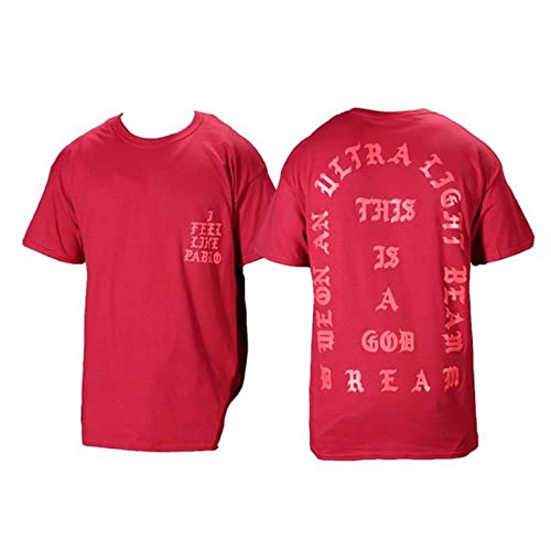 The Life of Pablo I Feel Like Pablo Red Short Sleeve T Shirt