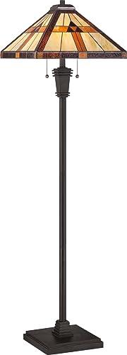 Quoizel TF1427F Bryant Tiffany Floor Lamp